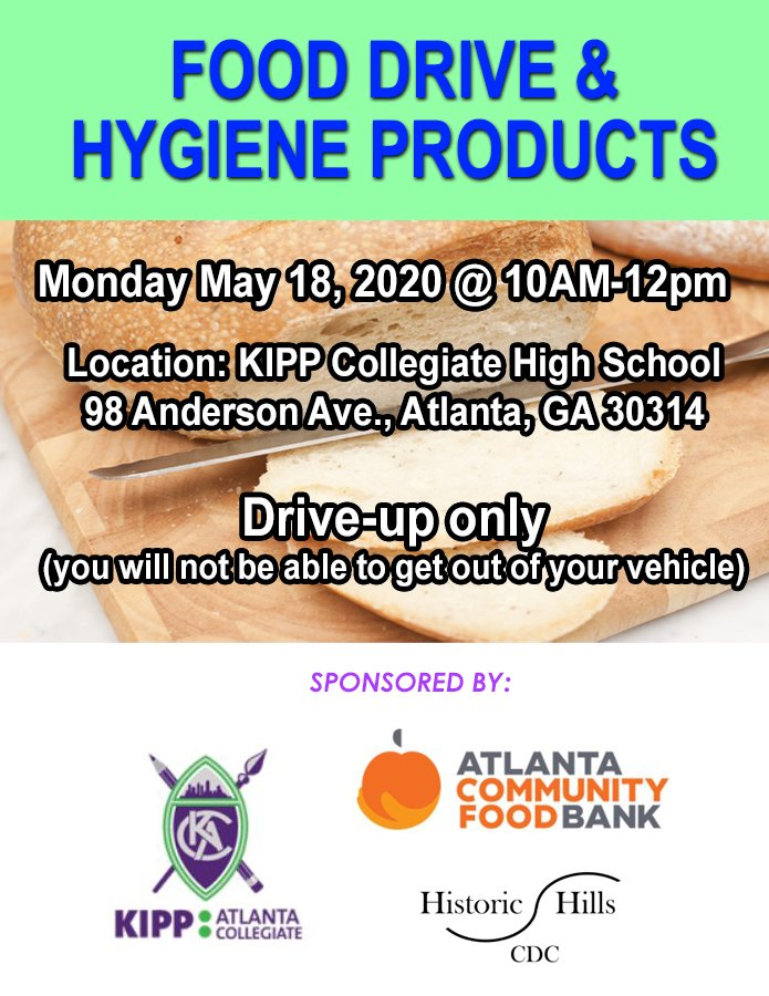 Food Drive & Hygiene Products