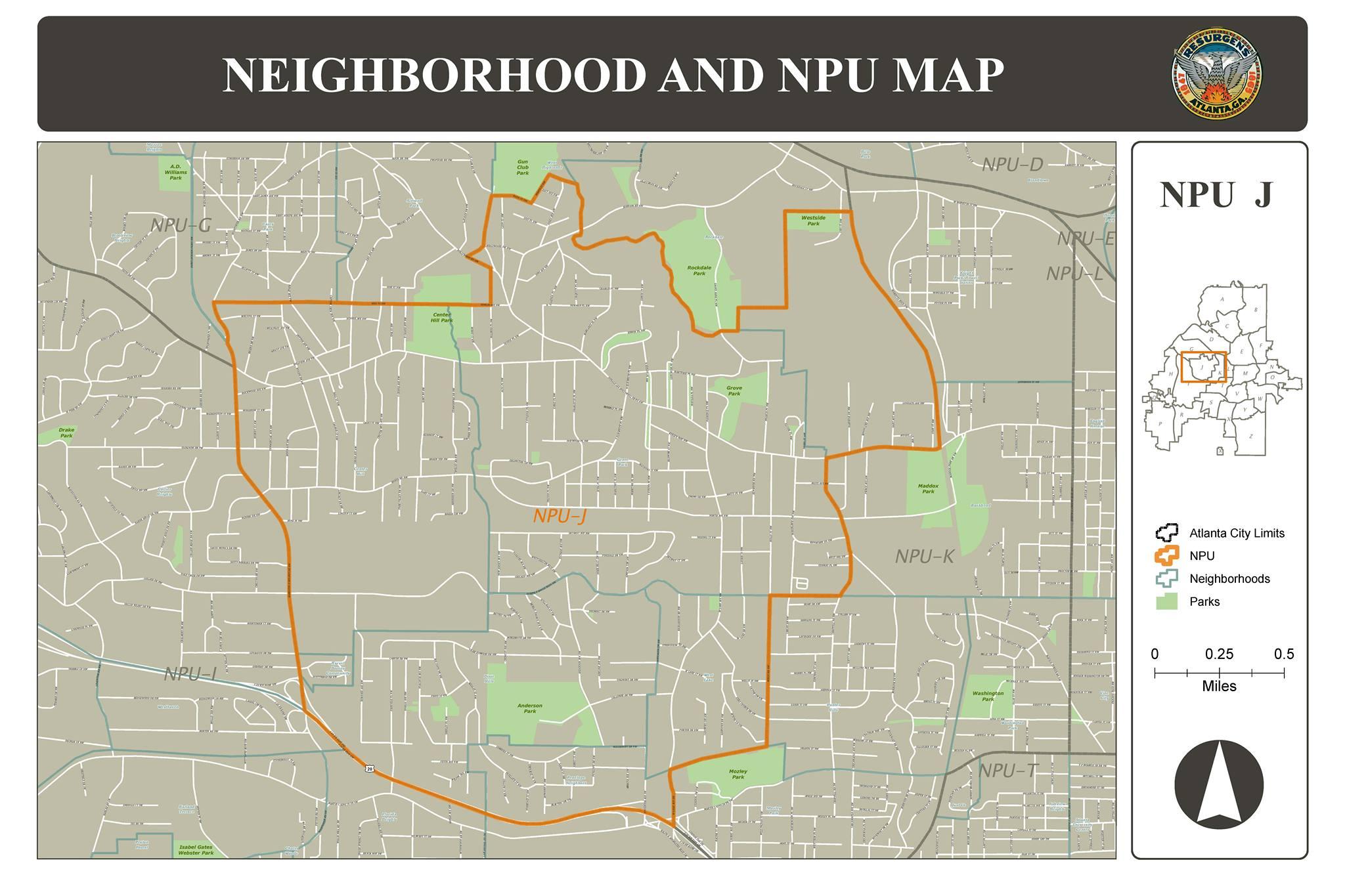 NPU-J map